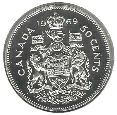 $0.50 1997 Canadian Prooflike 50 Cent Fifty Cent