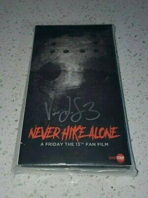 Never Hike Alone Friday the 13th Fan Film VHS Jason Voorhees Autographed Horror