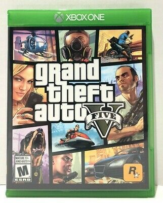 Grand Theft Auto 5 - XBox One - Great Condition - Complete