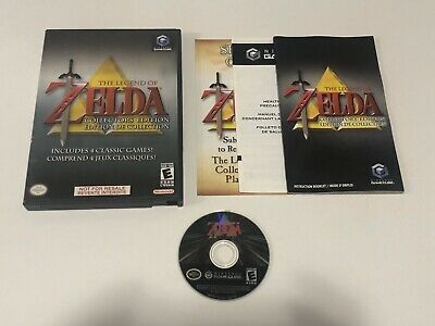 The Legend of Zelda: Collector's Edition - Nintendo GameCube. Complete
