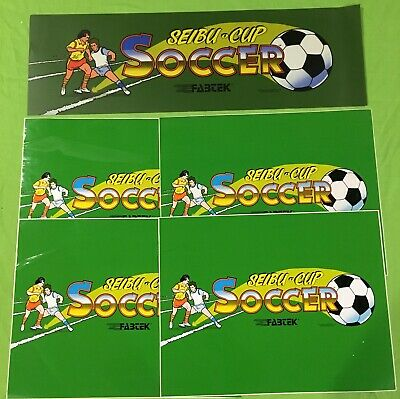 Seibu Cup Soccer 4 pack side art and Marquee