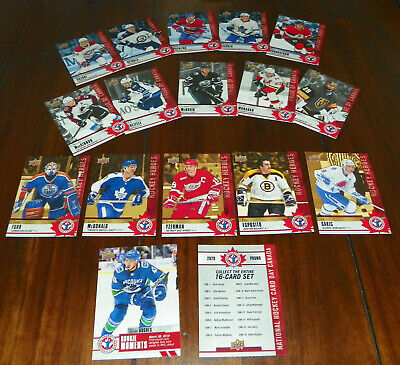 2019-20 Upper Deck National Hockey Card Day Canada 17-Card Complete Set