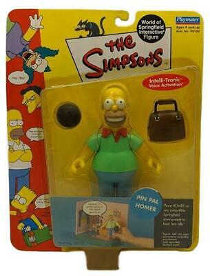 The Simpsons Series 2 Pin Pal Homer Action Figure