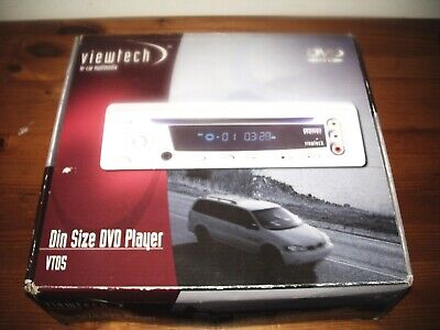 Viewtech In-Car Multimedia Din Size Dvd Player Vtd5
