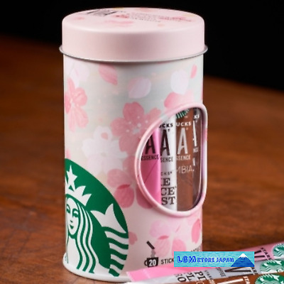 Starbucks JAPAN can container case canister SAKURA 2020 cherry blossom pink
