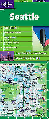 Seattle (Lonely Planet City Map), , Used; Good Book