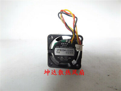 1pcs  SEPA SFB25A-05HA for notebook dual ball cooling fan