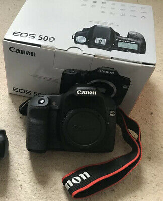 Canon EOS 50D 15.1MP Digital SLR Camera - Black (2807B024AA)