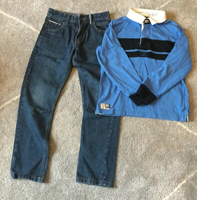 Boys Jeans And Top Outfit Age 9-10 Years