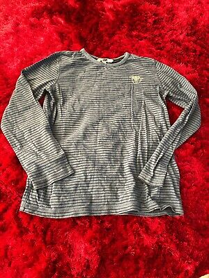 Fat Face navy blue long sleeved cotton top boys 12-13 years