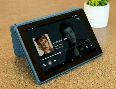 """Amazon Kindle Fire 7"""" Tablet 16GB with Alexa (9th Gen) - 2019 edition - Blue"""