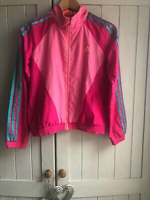 Adidas Girls Zip Up 11-12yrs