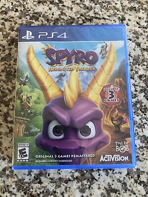 Spyro Reignited Trilogy Remastered (PlayStation 4 PS4) Brand New Factory Sealed