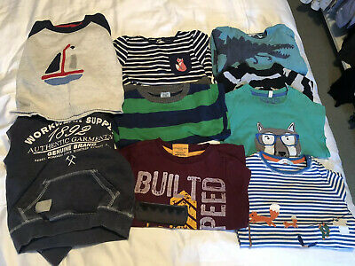 Bundle Of Boys Long Sleeved Tops 2-3 Years. John Lewis, Joules, Rebel, Next