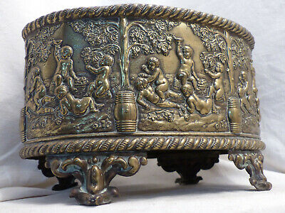 ancienne jardiniere XIX eme style louis XV Putti Angelots Antique french 19th
