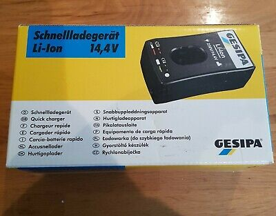 Gesipa Charger accubird 14.4 V charger.  Brand new in box