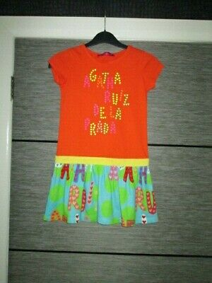 Girls Agatha Ruiz De La Prada Dress Age 8 Years Worn Once