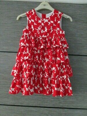 Girls Agatha Ruiz De La Prada Red/White Dress Age 8 Yrs Worn Once