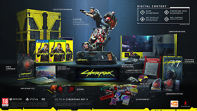 Cyberpunk 2077 Collector's Edition xBox One Worldwide Shipping - Pre order