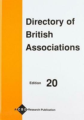 Directory of British Associations: And Associations in Ireland, Unnamed, Good Co