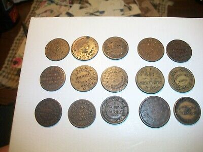 """/""""NEW/"""" RED BOOK A GUIDE BOOK OF CIVIL WAR TOKENS 9-8-01"""