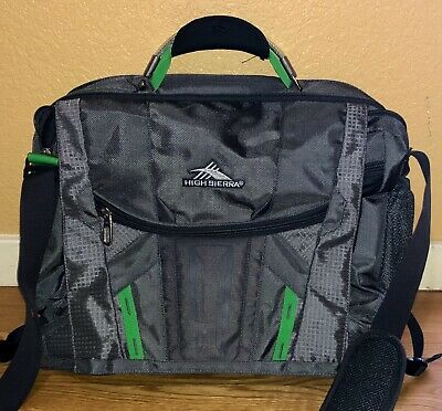 High Sierra XBT TSA Messenger Bag Briefcase 17-inch Laptop Bag            BD0497