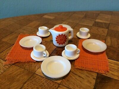 Kaffeegeschirr Bodo Hennig  70er  Puppenhaus Puppenstube 1:12 dollhouse dishes