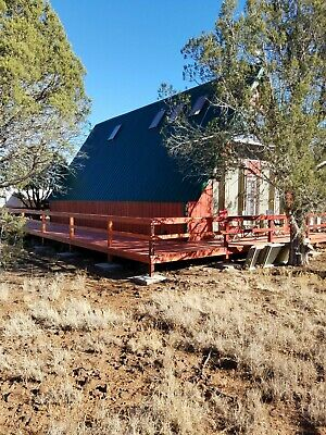 """OFF GRID"" Cabin On 2.27 Acres Near Ashfork Arizona"