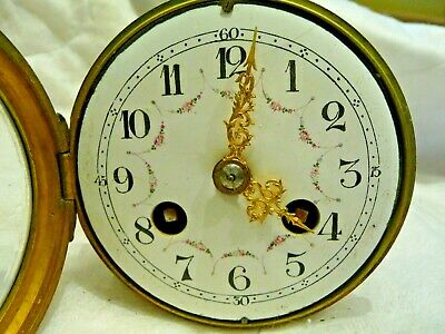 "Antique French Small Bell Striking Clock movement Complete ""Vincenti"" Project"