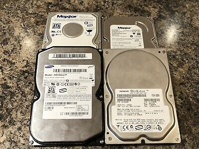 "Joblot 4 Off SATA 3.5"" Hard Drive 160gb 250gb"