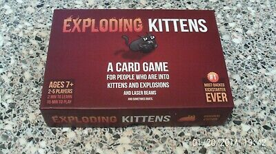 Exploding Kittens CCG Card Game Boxed 2015