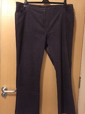 James Jeans Penney Cords in Black Red  RRP£185 Brand New With Tags