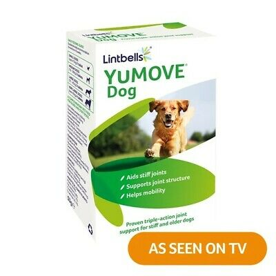 Lintbells YuMOVE Dog Joint Supplement for Stiff and Older Dogs 120 Tablets BNIB