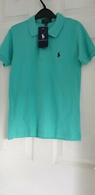 Polo Ralph Lauren Boys Mint Polo Shirt Age 9 -10 Bnwt  Unwanted Gift