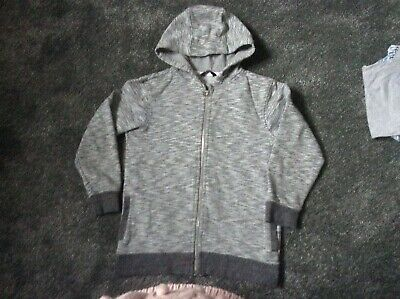 Boys George Grey fleck hoody age 8yrs used
