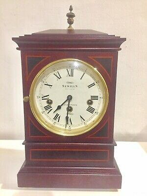 Vintage Sewills Of Liverpool Clock Triple Chime With Kieninger Movement 8 Rods