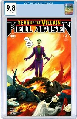 Year Of the Villain: Hell Arisen #3 CGC 9.8 .First Full Punchline App PRE-ORDER