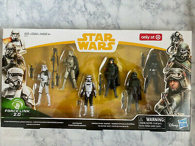 Disney Hasbro Star Wars Force Link 2.0 3.75 in. Action Figure Pack of 6 NEW Solo