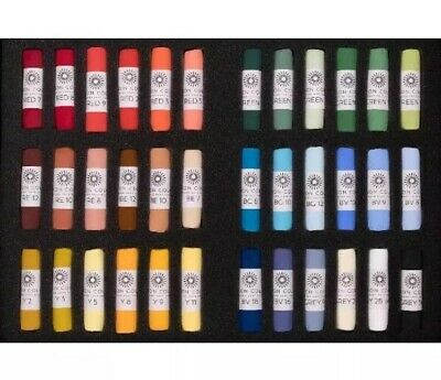 Unison Artist Quality Soft Pastels Starter Set of 36 Colours