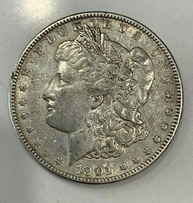 1901-P Morgan Silver Dollar - Nice High Grade