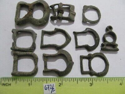 Ancient bronze buckles Vikings, Kievan Rus 10-13 AD № 672/2