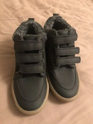 Boys Next Boots Size 12 Grey Brand New without Tags