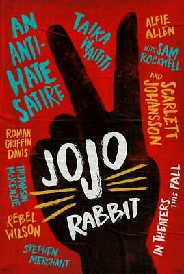 Poster Jojo Rabbit Locandina Film Cinema Taika Waititi Movie Oscar #1