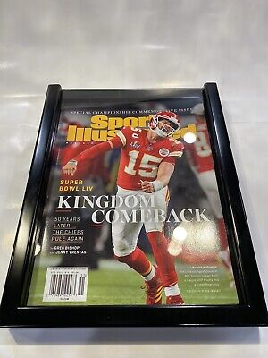 🔥🔥kansas city chiefs super bowl LIV Sports Illustrated Commemorative Issue