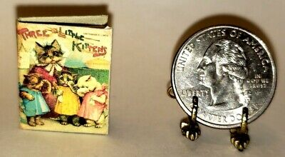 1:12 SCALE MINIATURE BOOK SNOW WHITE AND RED ROSE 2 PRE 1900 DOLLHOUSE SCALE