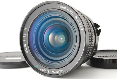 《EXC++++》 Mamiya Sekor C 35mm f/3.5 N Lens for M645, Front & Rear Cap from Japan