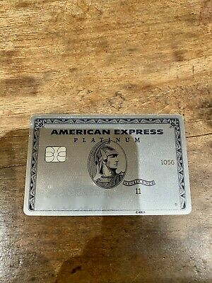 American Express AMEX Platinum Credit Card Slightly Used