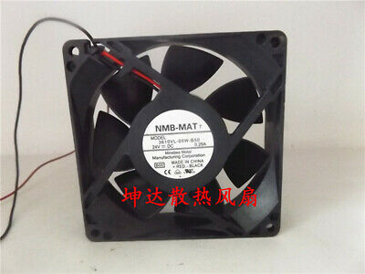 1pcs  NMB 3610vl-05w-b50 24V 0.29A 9cm 2-wire dual ball cooling fan