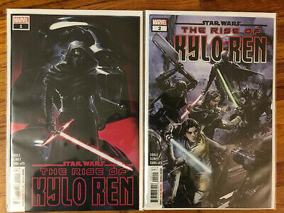 Star Wars The Rise Of Kylo Ren #1 And #2, First Prints, Near Mint Condition!