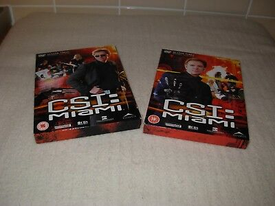 C.s.i. Miami Complete Series 3 (2 Part Box Set)